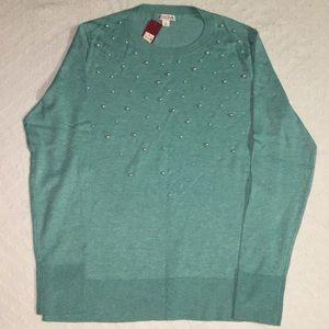 Merona beaded sweater